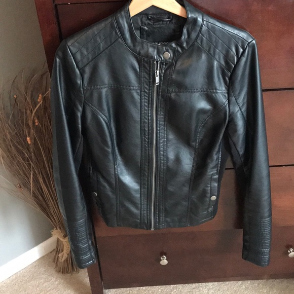 Maurices Jackets & Blazers - Vegan Leather Moro Jacket